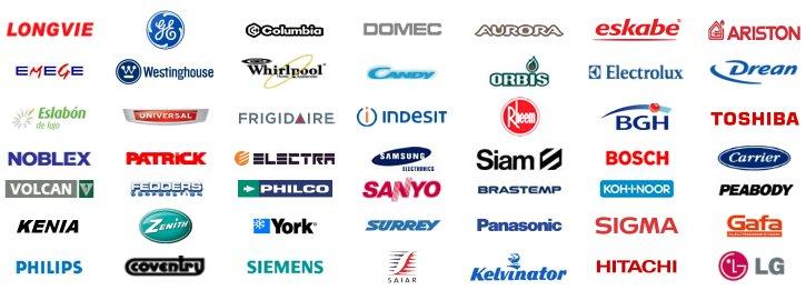 marcas que trabajamos service express lavarropas